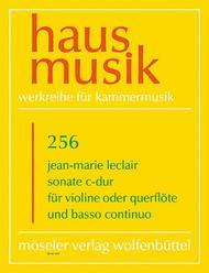 Sonata C major op. 2,3