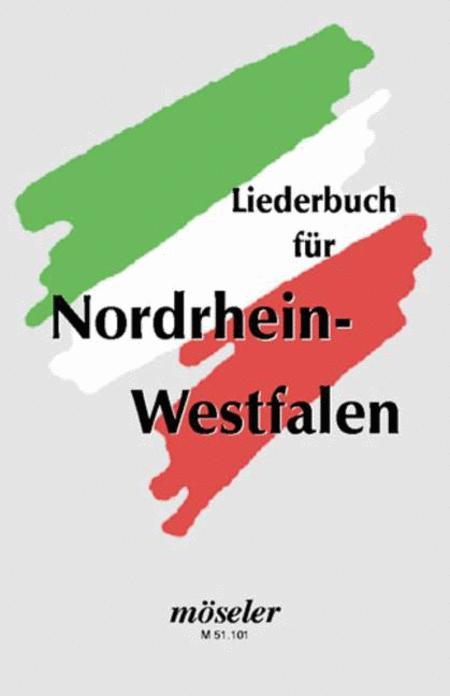 Song book for North-Rhine-Westphalia