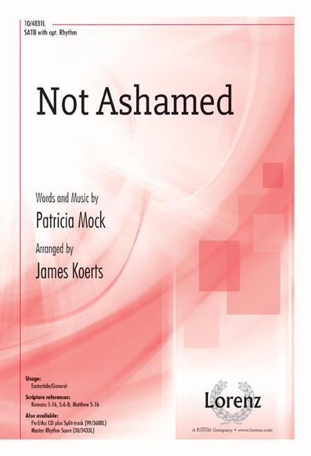 Not Ashamed