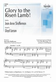 Glory to the Risen Lamb!