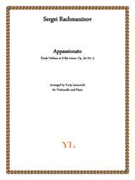 Rachmaninov - Etude-tableau Op.39 No.5 in E-flat minor (Transcribed for Cello and Piano)