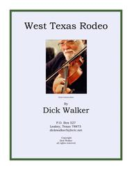 West Texas Rodeo, a fiddle tune