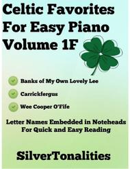 Celtic Favorites for Easy Piano Volume 1F Sheet Music