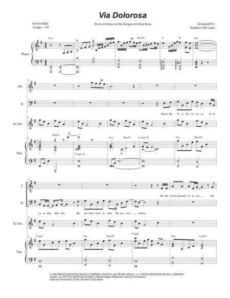 Via Dolorosa (Duet for Tenor and Bass Solo)