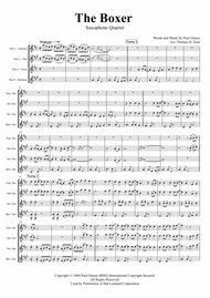 The Boxer - Simon&Garfunkel - Saxophone Quartet