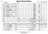 Basin Street Blues for Big Band, Trombone Feature