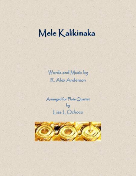 Mele Kalikimaka for Flute Quartet