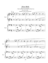Silver Bells Piano Duet