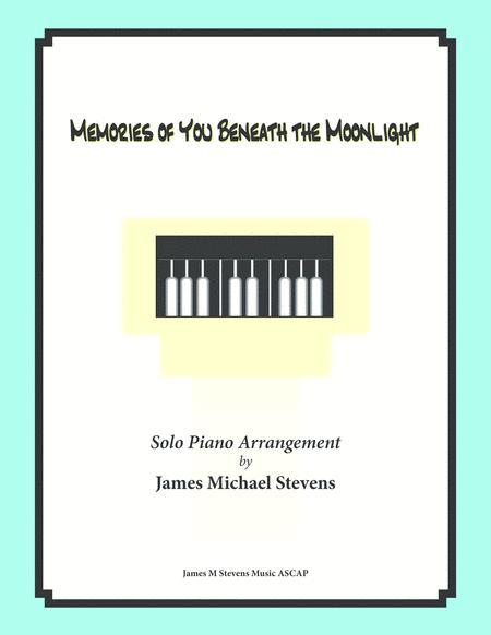 Memories of You Beneath the Moonlight (Romantic Piano)
