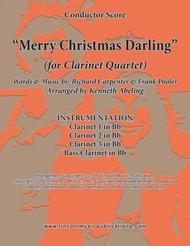 Merry Christmas, Darling (for Clarinet Quartet)
