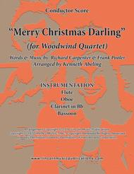 Merry Christmas, Darling (for Woodwind Quartet)