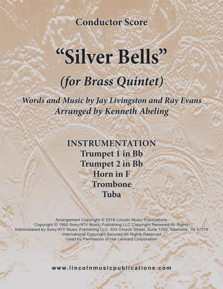 Silver Bells (for Brass Quintet)
