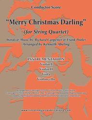 Merry Christmas, Darling (for String Quartet)