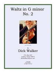 Waltz in g minor No. 2