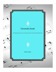 Chromatic Etude - easy piano solo