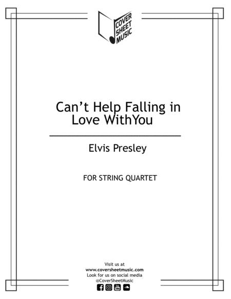 Can't Help Falling In Love With You String Quartet