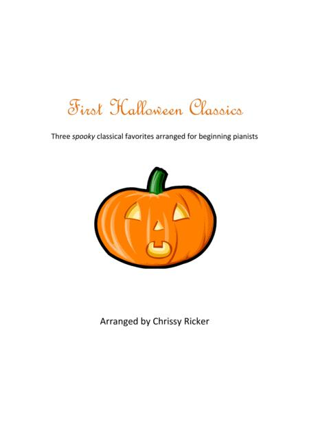 First Halloween Classics for Piano