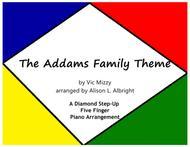 The Addams Family Theme (easy piano)