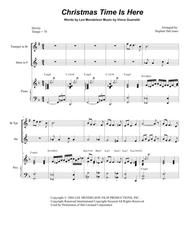 Christmas Time Is Here (Duet for Bb-Trumpet and French Horn)