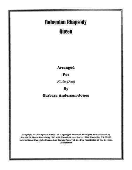 Bohemian Rhapsody (Flute Duet)