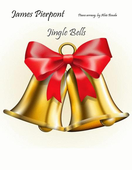 Jingle Bells piano solo easier version swinging
