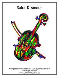 Salut D'Amour - Violin & Cello Arrangement by The Chapel Hill Duo