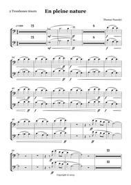 En Pleine Nature/Tenor Trombones PART
