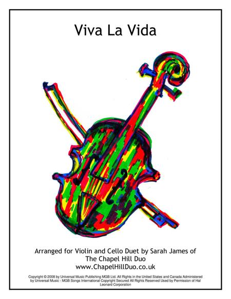 Viva La Vida - Violin & Cello Arrangement by The Chapel Hill Duo