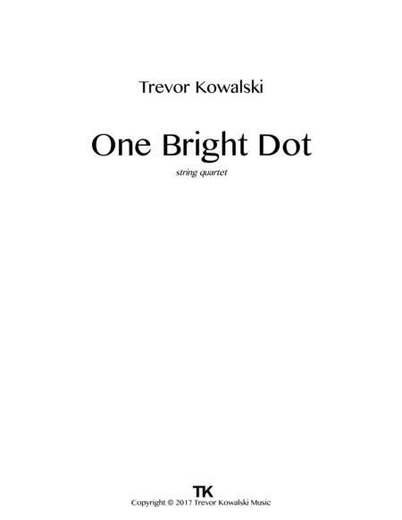 One Bright Dot (JACK Quartet performance)
