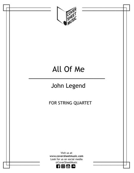 All Of Me String Quartet