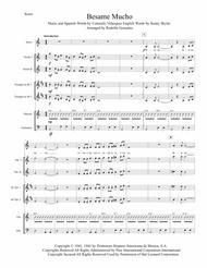 Besame Mucho for Mariachi Ensemble