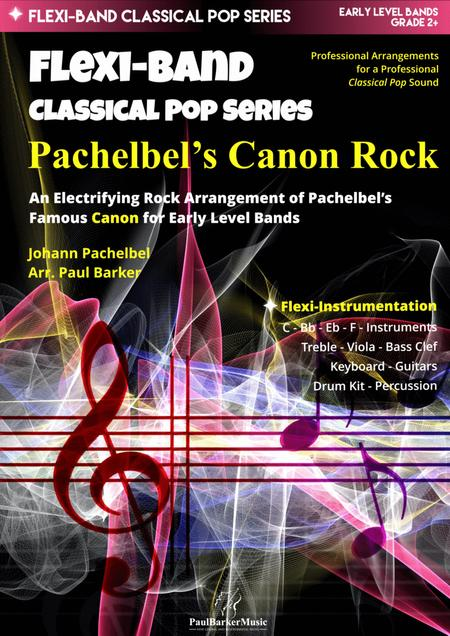 Pachelbel's Canon Rock (Flexi-Band Score and Parts)