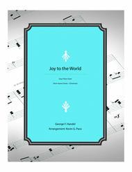 Joy to the World - easy piano duet
