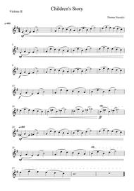 Children's Story/Violin 2 PART