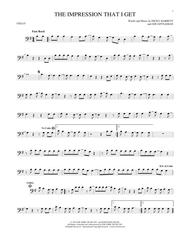 Download the impression that i get sheet music by the mighty.