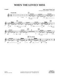 When the Lovely Miss (18th Century Polish Carol) - F Horn