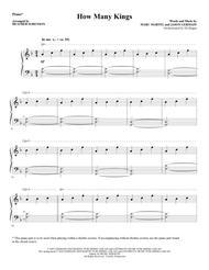 How Many Kings - Piano