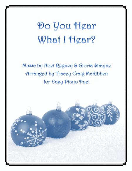 Do You Hear What I Hear (Piano Duet)