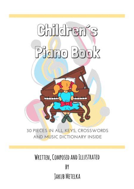 Children´s Piano Book by Jakub METELKA