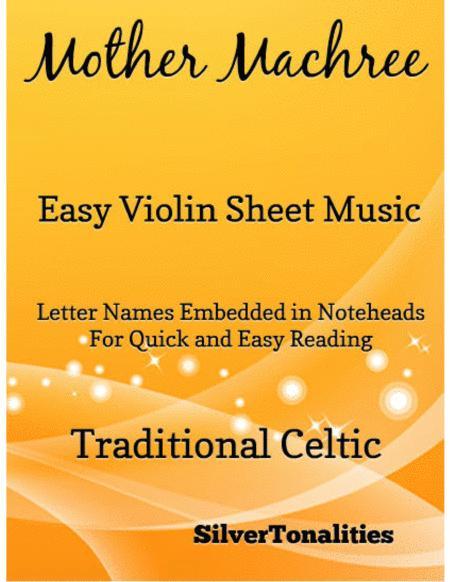Mother Machree Easy Violin Sheet Music