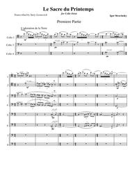 Stravinsky - The Rite of Spring (1913 Version Transcribed for 8 Cellos)