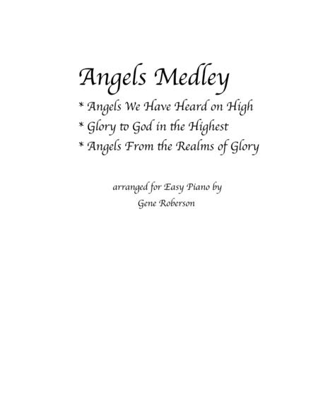 Angels Medley  Easy Piano Entry Contest 2016 (Angels We Have Heard)