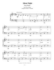 Silent Night, Easy Piano