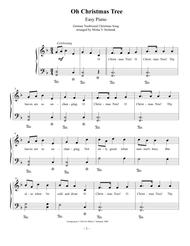 O Christmas Tree In German.Download Oh Christmas Tree Easy Piano Sheet Music By Traditional