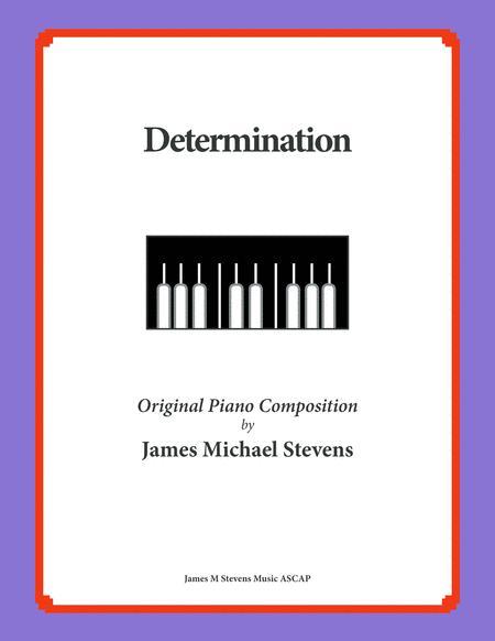 Determination (Piano Solo)