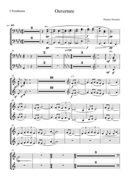 Ouverture/Trombone PART