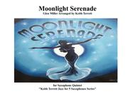 Moonlight Serenade for Saxophone Ensemble (S, A, A, T & Baritone)
