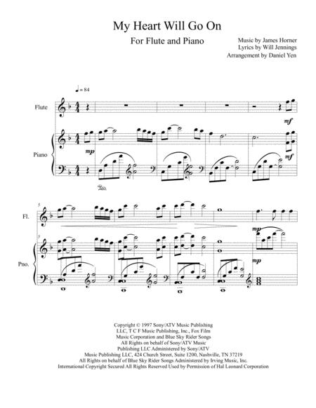Download My Heart Will Go On (Love Theme From Titanic) For