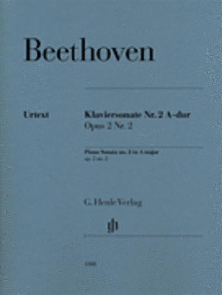 Piano Sonata No. 2 in A Major Op. 2, No. 2