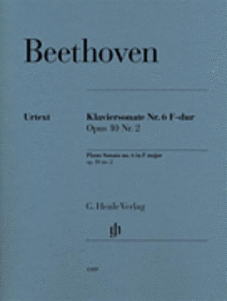 Piano Sonata No. 6 in F Major Op. 10, No. 2